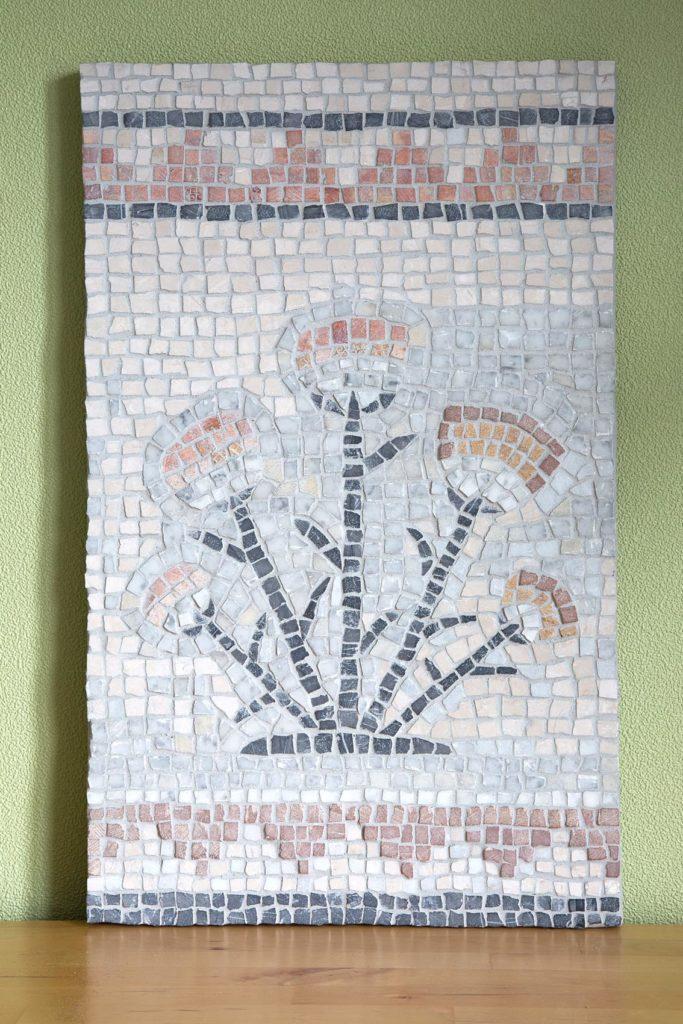 mosaïque fleurs de lotus