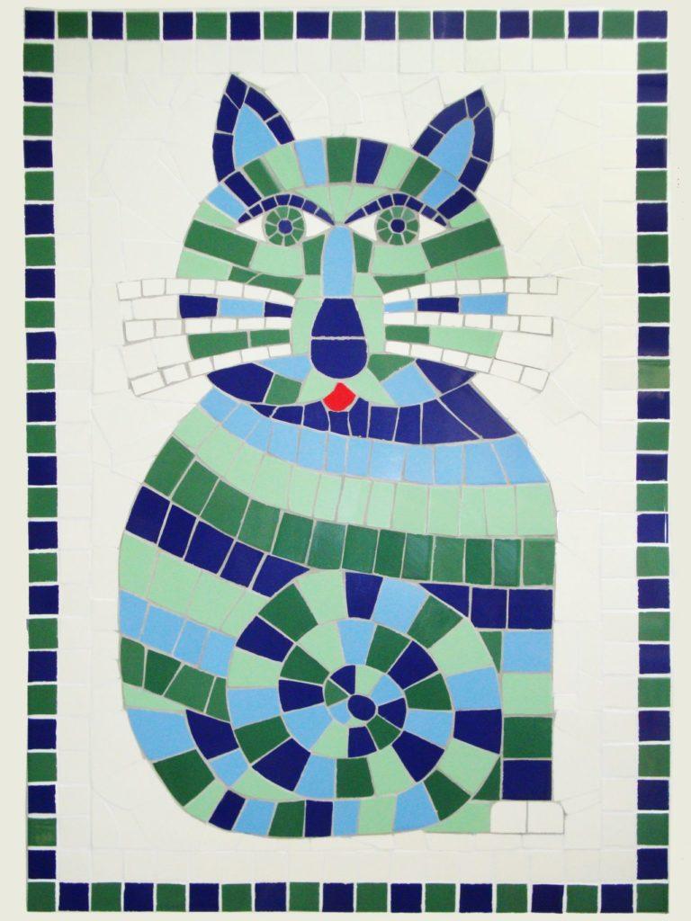mosaïque Monsieur le Chat